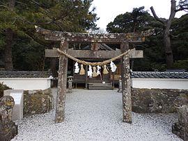 신사앞 기둥문(륙측). JPG