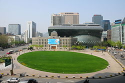 View of Seoul Plaza