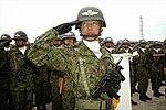 9mm機関拳銃(自衛隊記念日行事観閲式・第1空挺団).jpg
