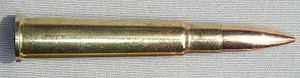 Pattern 1914 Enfield - .303 British (7.7×56mmR) rimmed cartridge for which the P14 action was adapted