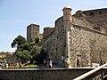 003 Castell Reial, bastió nord-est i torre gòtica.jpg