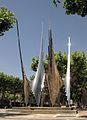 005 Monument als Països Catalans, d'Andreu Alfaro (pl. del Carme).jpg