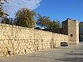 016 Monestir de Sant Cugat del Vallès, muralla sud.JPG
