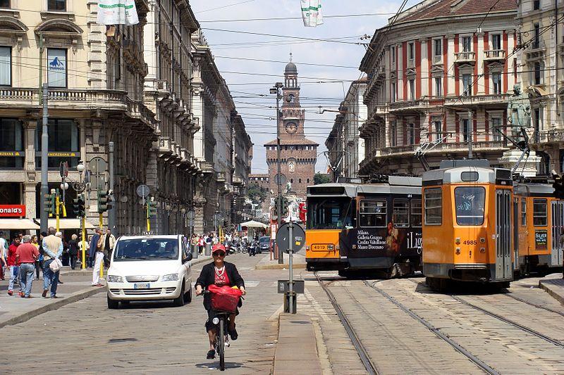 Transporte do aeroporto de Milão para o centro