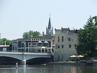 Fort Atkinson, Wisconsin - Downtown Fort Atkinson