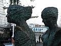 099 La parella, de Lautaro Díaz, moll de la Fusta.jpg