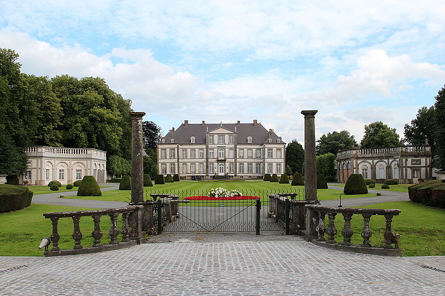 Attre (Belgium), the castle (XVIIIth century).