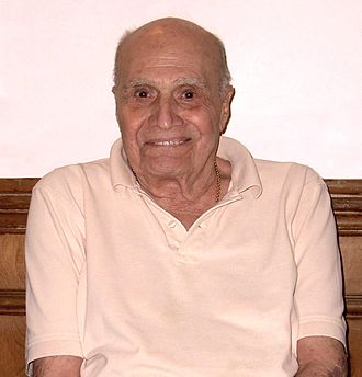 Carmine Infantino - Infantino at the Big Apple Convention in Manhattan, October 2, 2010