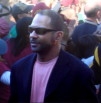 Todd McNair - McNair walking with the USC Trojans to a stadium before a game