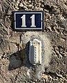 11, rue des Andrés, numéro de rue à Saint-Maurice-de-Beynost (Ain, France).jpg