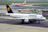 D-AILD - A319 - Lufthansa