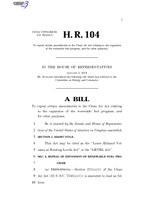 116th United States Congress H. R. 0000104 (1st session) - LEVEL Act.pdf