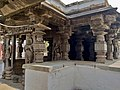 11th century Panchalingeshwara temples group, Kalyani Chalukya, Sedam Karnataka India - 77.jpg