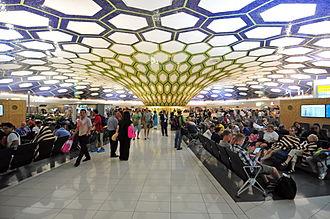 Abu Dhabi International Airport - Interior of Terminal 1