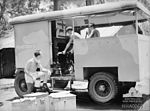 13 Squadron RAAF mobile kitchen Hughes NT Feb 1943 AWM NWA0063.jpg