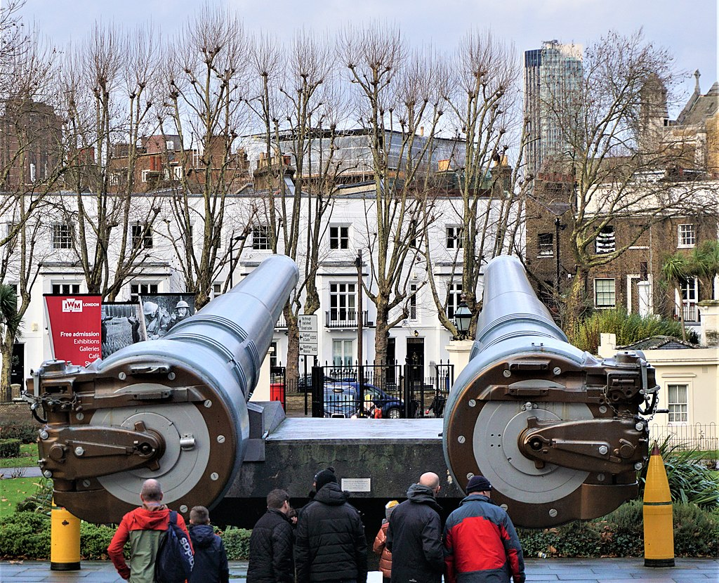 15 inch Naval Guns - Imperial War Museum - Joy of Museum