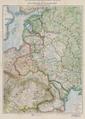 17-Karte der neuen Staatenbildungen im Osten und des russischen Kriegsgebiets zwischen Ostsee und Schwarzem Meer (1923).png
