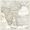 1794 Laurie and Whittle Map of Greece, Turkey andamp, the Balkans - Geographicus - TurkeyEurope-lauriewhittle-1794.jpg