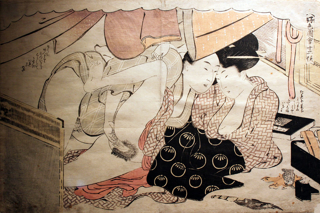 Consider, that 18th century japanese porn important