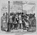 1854-08-21, La Ilustración, Una esquina de Madrid el 19 de julio.jpg