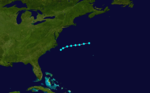 1857 Atlantic tropical storm 1 track.png