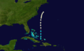 1858 Atlantic hurricane 5 track.png
