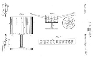 W.E. Lincoln's U.S. Patent No. 64,117 of Apr. 23, 1867.