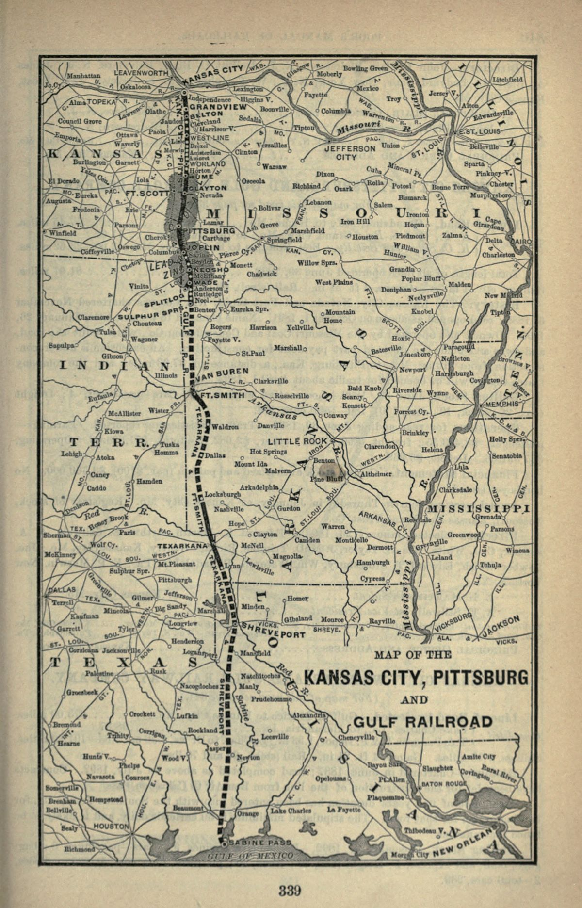 Texarkana and Fort Smith Railway - Wikipedia on canadian pacific railway limited, canadian national railway company, wabash route map, chicago great western route map, lehigh valley railroad route map, norfolk & western route map, louisville and nashville railroad, csx transportation, burlington northern railroad, central pacific route map, montana rail link route map, east broad top route map, csx route map, southern railway route map, csx corporation, southern belle, illinois central railroad, norfolk southern railway, colorado & southern route map, union pacific railroad, penn central route map, pan am railways, union pacific railroad route map, atlantic coast line railroad, texas mexican railway, norfolk southern route map, virginia & truckee route map, kansas city rail system, soo line railroad, grand trunk western railroad, general mills, bnsf route map, class i railroad, dallas area rapid transit route map, nickel plate road route map, bc rail route map, southern railway, amtrak route map, via rail,