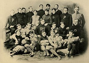 1893 Purdue Boilermakers football team - Image: 1893 Purdue football team