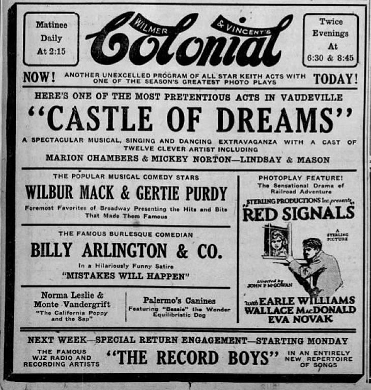 File:1928 - Colonial Theater Ad - 5 Jan MC - Allentown PA