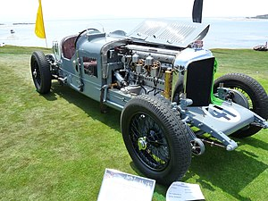 Bentley Speed Six - Old Number One, winner of the 24 Hours of Le Mans in 1929 and 1930