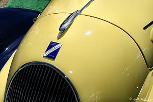 Darracq Motor Engineering Company - 1938 Darracq by Figoni et Falaschi