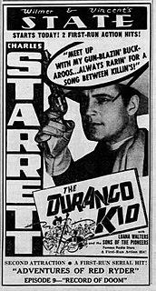 <i>The Durango Kid</i> (film) 1940 film by Lambert Hillyer