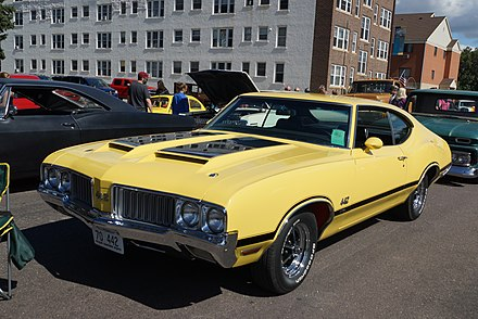 1969 1970 OLDSMOBILE 442 4-4-2 AIR CLEANER DECAL