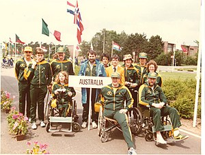 Australia at the 1980 Summer Paralympics - Image: 1980 Amputee Team Holland