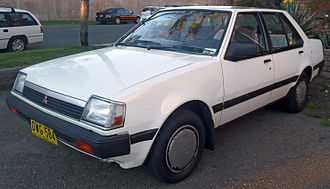 Mitsubishi Motors Australia - The Colt subcompact car was produced from 1982 until 1990