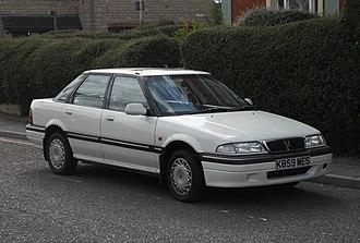 Rover 400 / 45 - Image: 1993 Rover 414SLi 16V (9720956404)