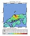 2000 Tottori earthquake shakemap.jpg