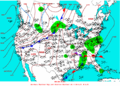 2003-05-18 Surface Weather Map NOAA.png