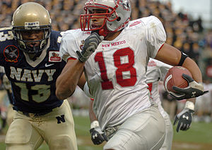 New Mexico Lobos football - The Lobos in action against Navy