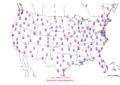 2006-02-05 Max-min Temperature Map NOAA.png