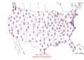 2006-02-22 Max-min Temperature Map NOAA.png
