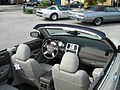 2008 Chrysler 300 white convertible in Florida-inter.JPG