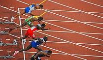 2008 Summer Olympics - Men's 110m Hurdles Semifinal 1.jpg