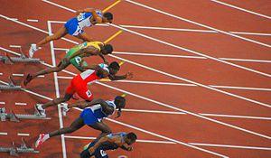 Athletics at the 2008 Summer Olympics – Men's 110 metres hurdles - Men's 110m Hurdles Semifinal 1
