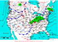 2009-03-08 Surface Weather Map NOAA.png