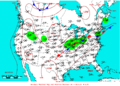 2009-06-11 Surface Weather Map NOAA.png