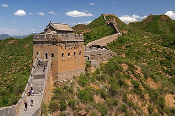 English: Great Wall of China near Jinshanling ...