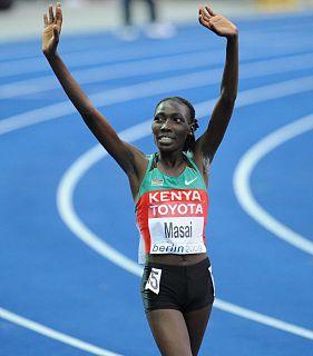 Linet Masai Kenyan long-distance runner