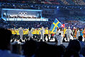 2010 Olympic Winter Games Opening Ceremony - Sweden entering.jpg